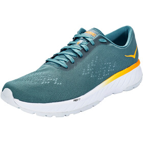 Hoka One One Cavu 2 Running Shoes Herre corsair blue/bright marigold